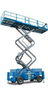 Noleggio piattaforme a pantografo diesel
