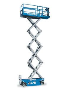 Noleggio piattaforme a pantografo elettriche